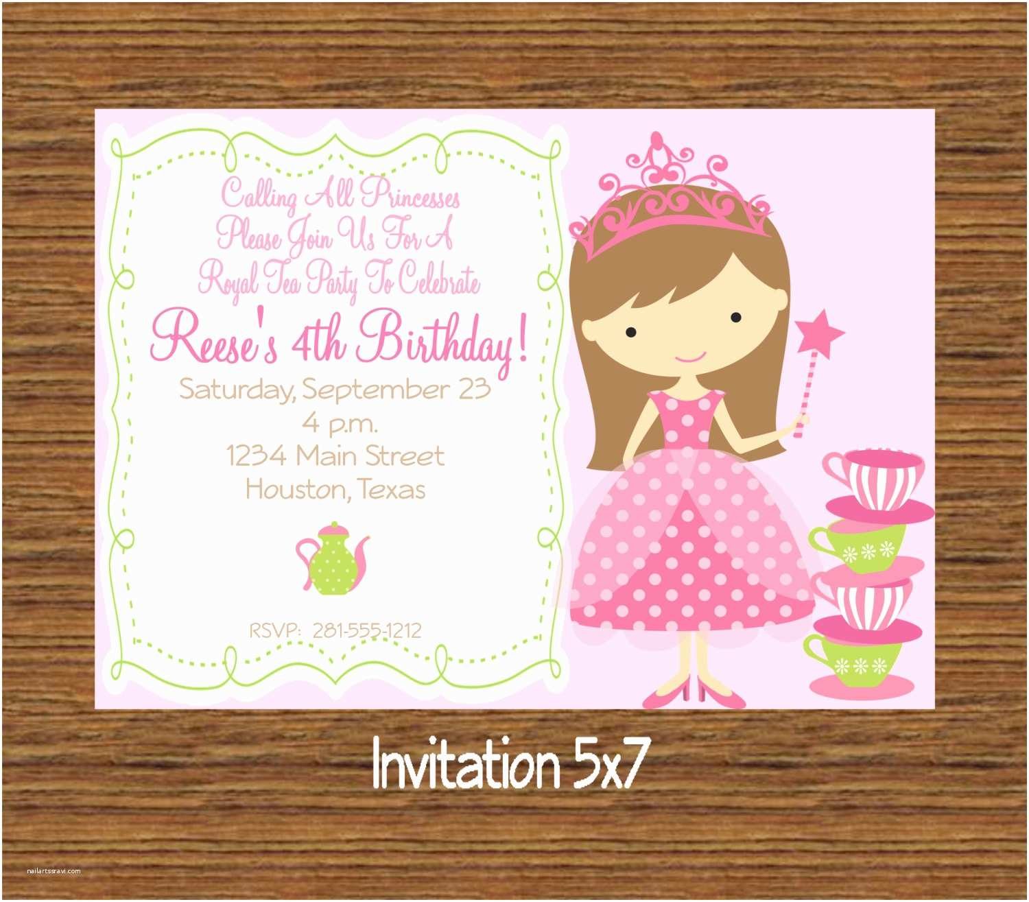 Custom Birthday Invitations Kitchen Party Invitation Cards Design [peenmedia]