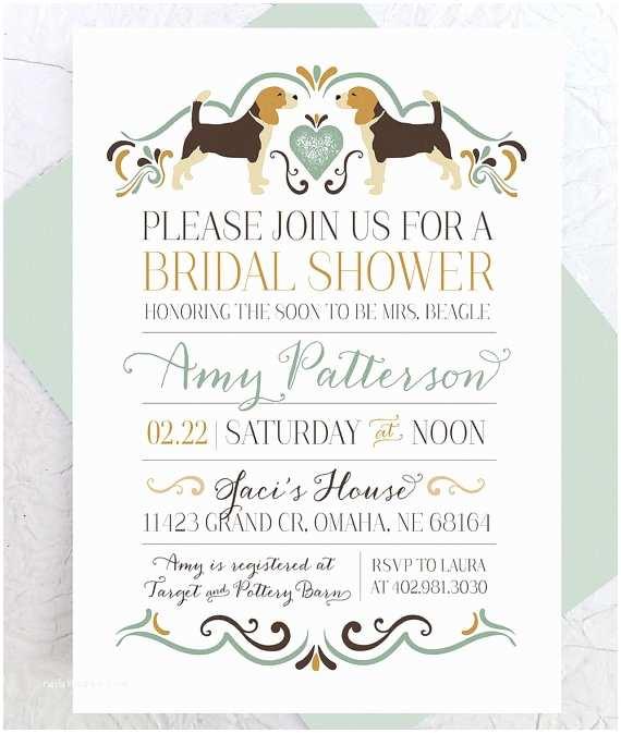 Custom Bridal Shower Invitations Bridal Shower Invitation Custom Printable Pdf Bridal
