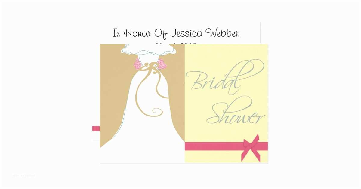 Custom Bridal Shower Invitations Personalized Bridal Shower Invitation