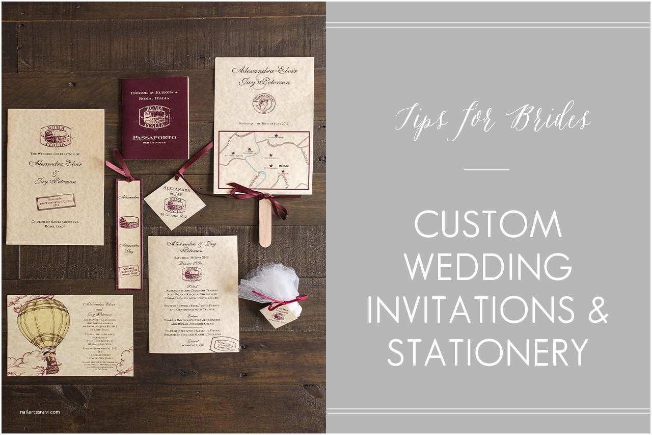 Custom Designed Wedding Invitations Create Easy Custom Wedding Invitations Designs