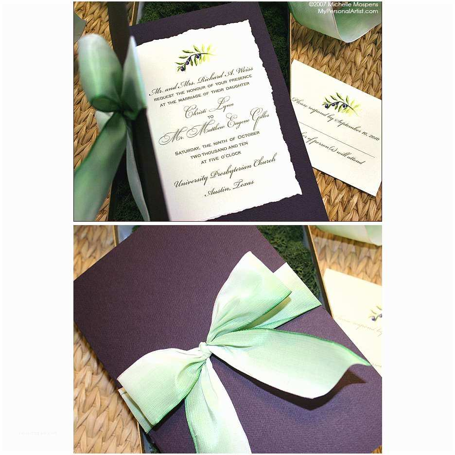 Custom Designed Wedding Invitations Custom Designed Wedding Invitations