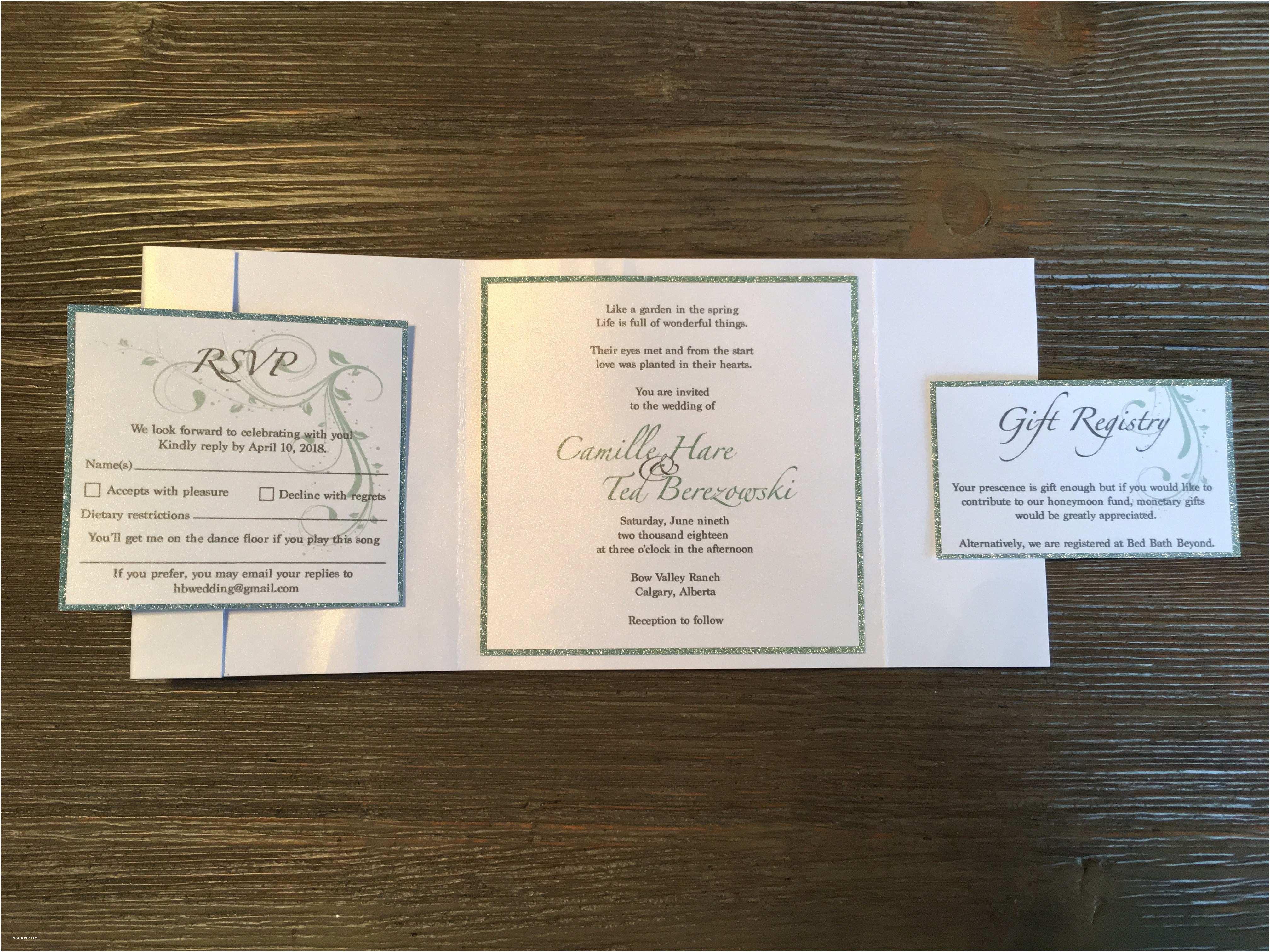 Custom Designed Wedding Invitations Weddings Invitations Stationary Custom Designs Infinity