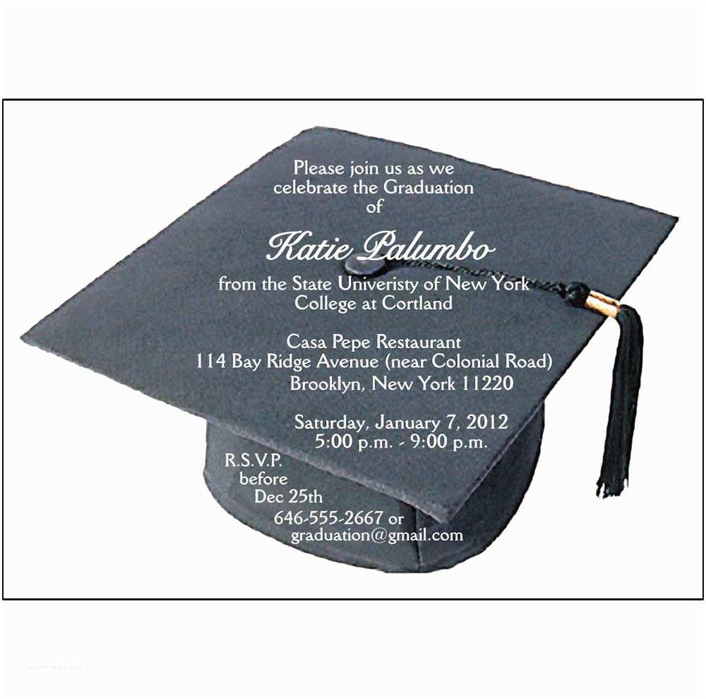 Custom Graduation Invitations Custom Graduation Party Invitations