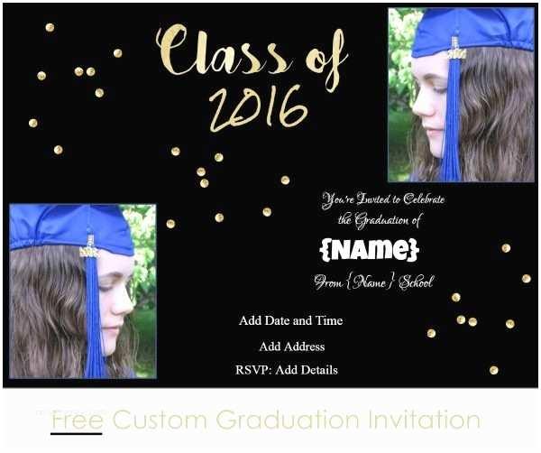 Custom Graduation Invitations Graduation Invitations