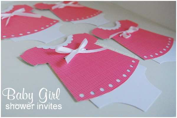Custom Made Baby Shower Invitations Craftaholics Anonymous