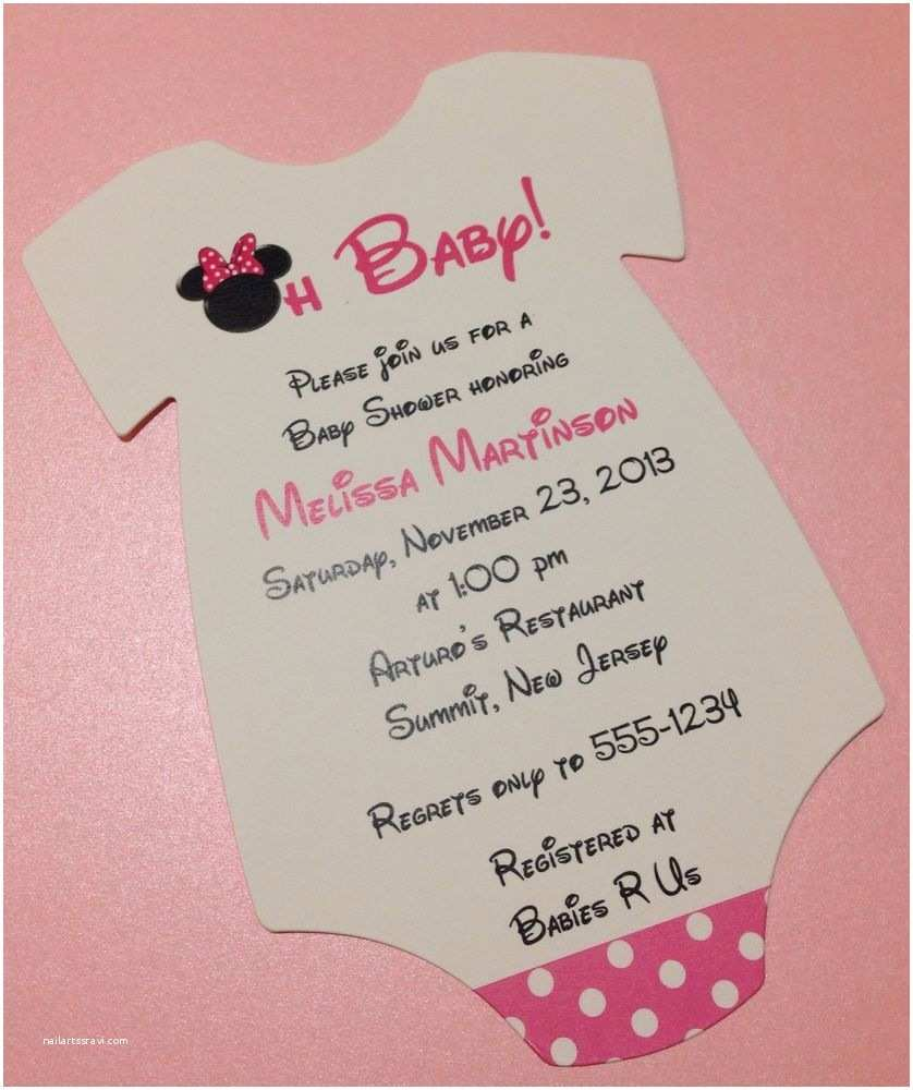 Custom Made Baby Shower Invitations Design Personalized Baby Shower Invitations with