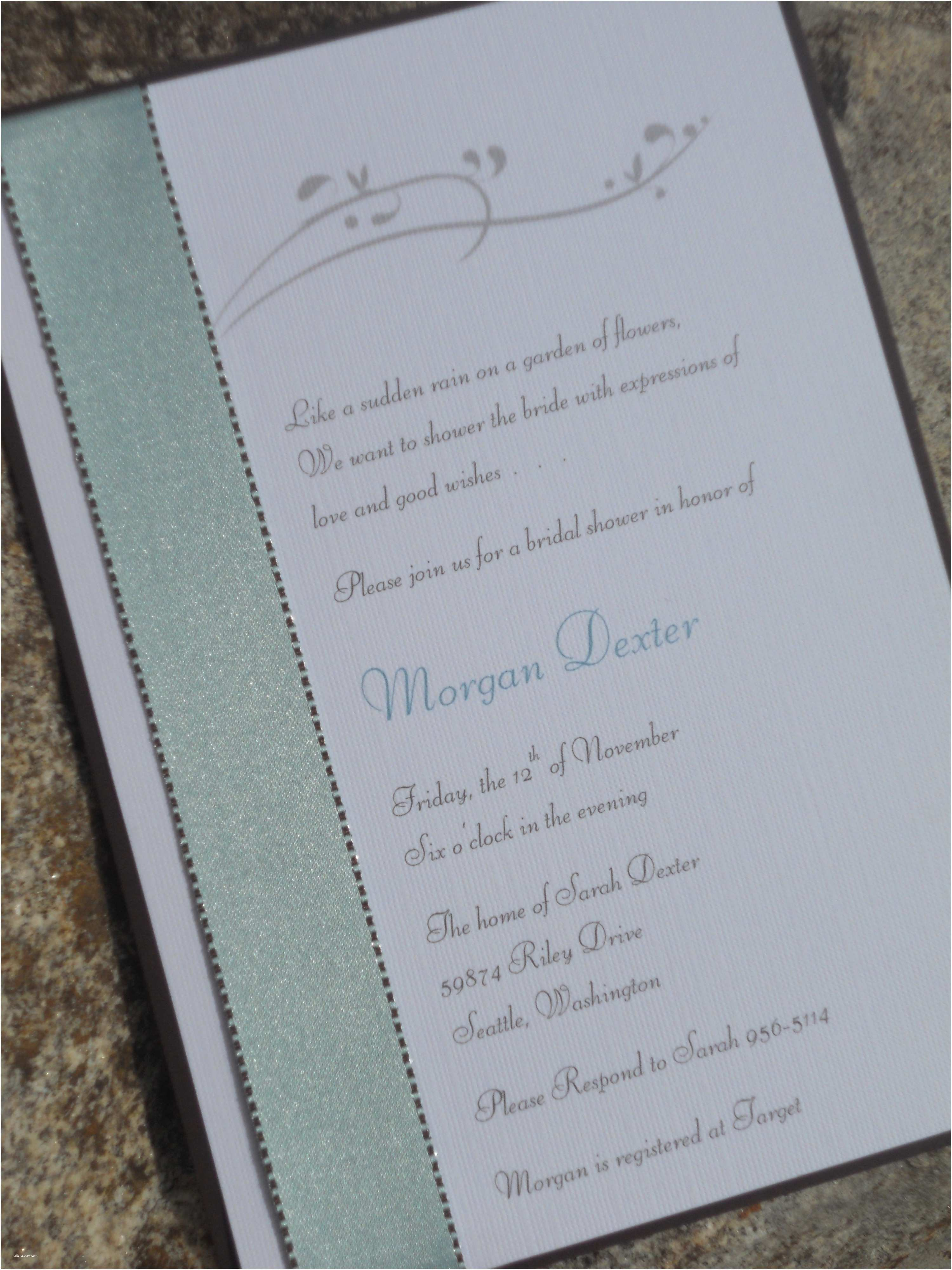 Custom Made Baby Shower Invitations Excellent Handmade Baby Shower Invitations at