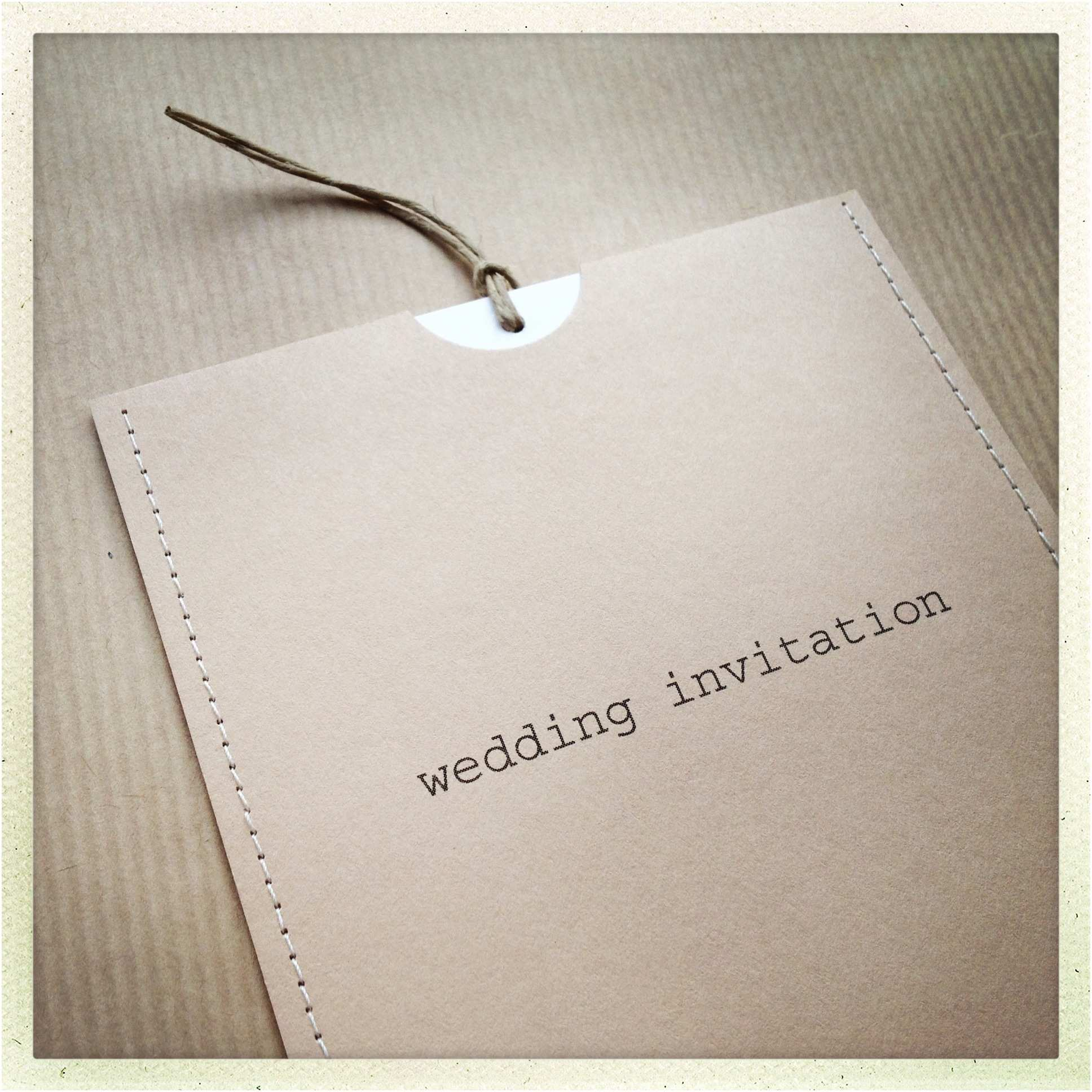 Custom Made Wedding Invitations Creative Handmade Wedding Invitations