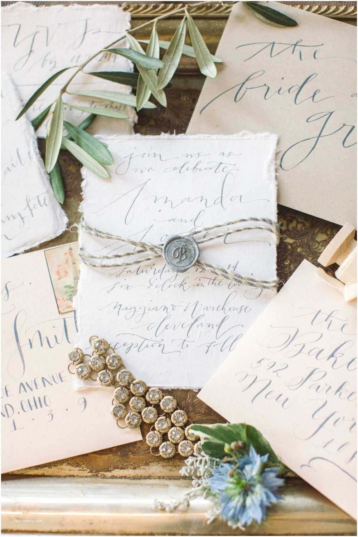 Custom Made Wedding Invitations Custom Calligraphy Wedding Invitation Handlettered On