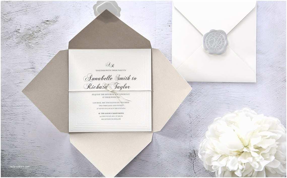 Custom Made Wedding Invitations New Wedding Invitation Handmade
