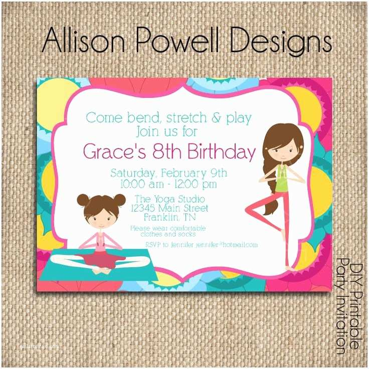 Custom Party Invitations Custom Birthday Invitations