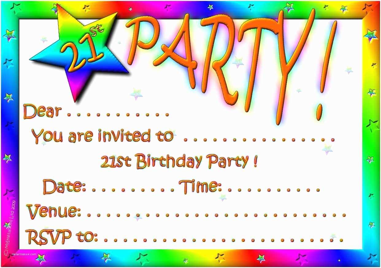 Custom Party Invitations Free Customizable Invitations