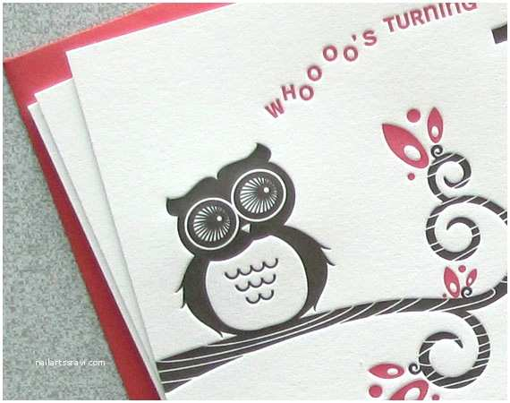 Custom Party Invitations Owl Birthday Party Invitations
