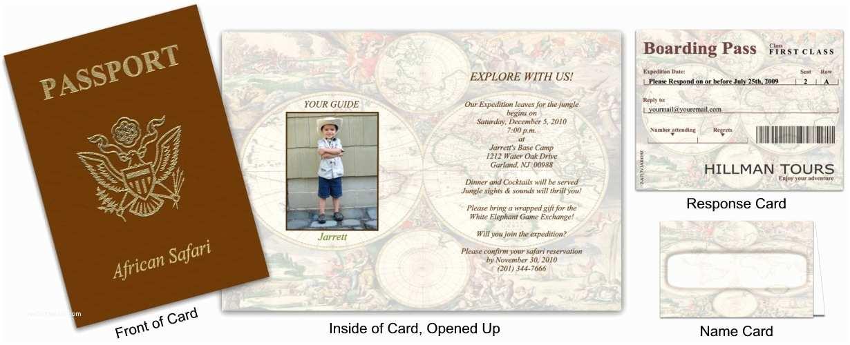 Custom Passport Wedding Invitations Passport 2 Old World Globes Custom Passport Invitations
