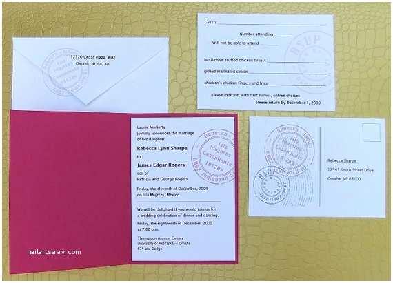 Custom Passport Wedding Invitations Passport Wedding Invitation Custom Printable Invitation