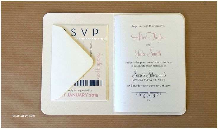 Custom Passport Wedding Invitations the 25 Best Passport Wedding Invitations Ideas On