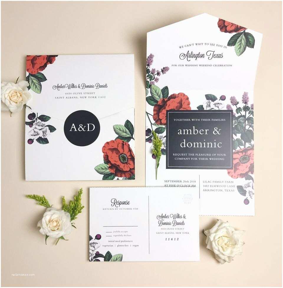 Custom Seal and Send Wedding Invitations Basic Invites Seal and Send Wedding Invitations – Inside