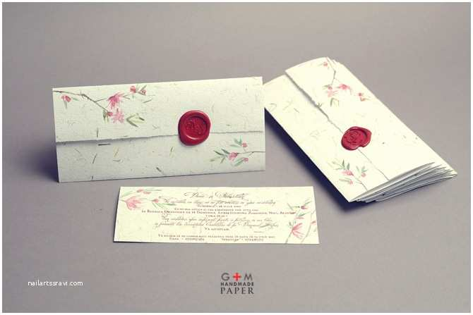 Custom Seal And Send Wedding Invitations Invitations Gallery – G M Handmade