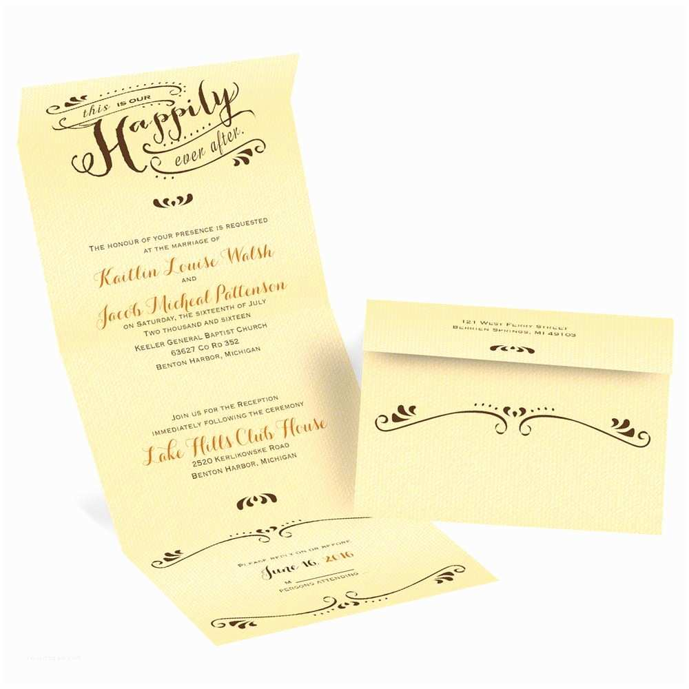 Custom Seal And Send Wedding S Our Ever After Seal And Send