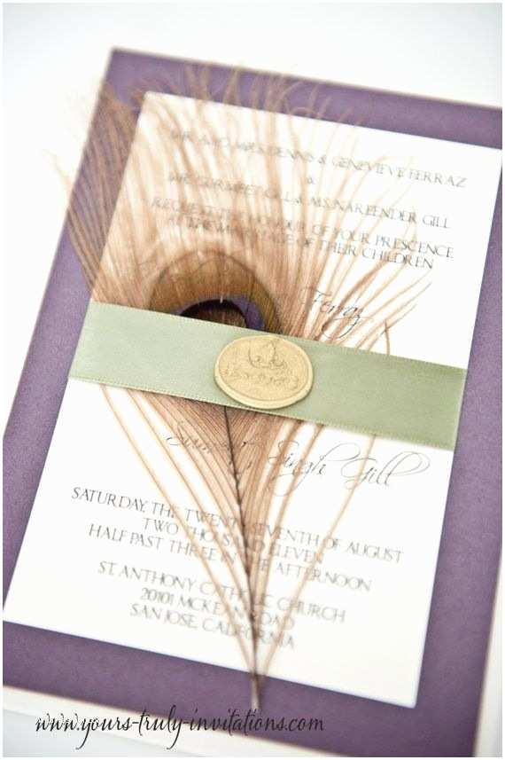 Custom Seal  Send Wedding Invitations Renaissance Wedding Invitation Set With Gold Wax Seal