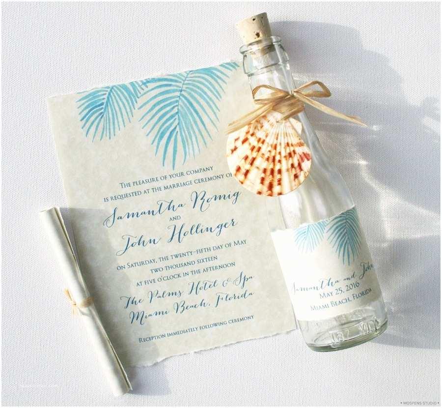 Custom Wedding Invitations Beach Wedding Invitations Ideas