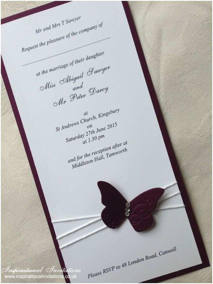 Custom Wedding Invitations Best 25 butterfly Wedding Invitations Ideas On Pinterest
