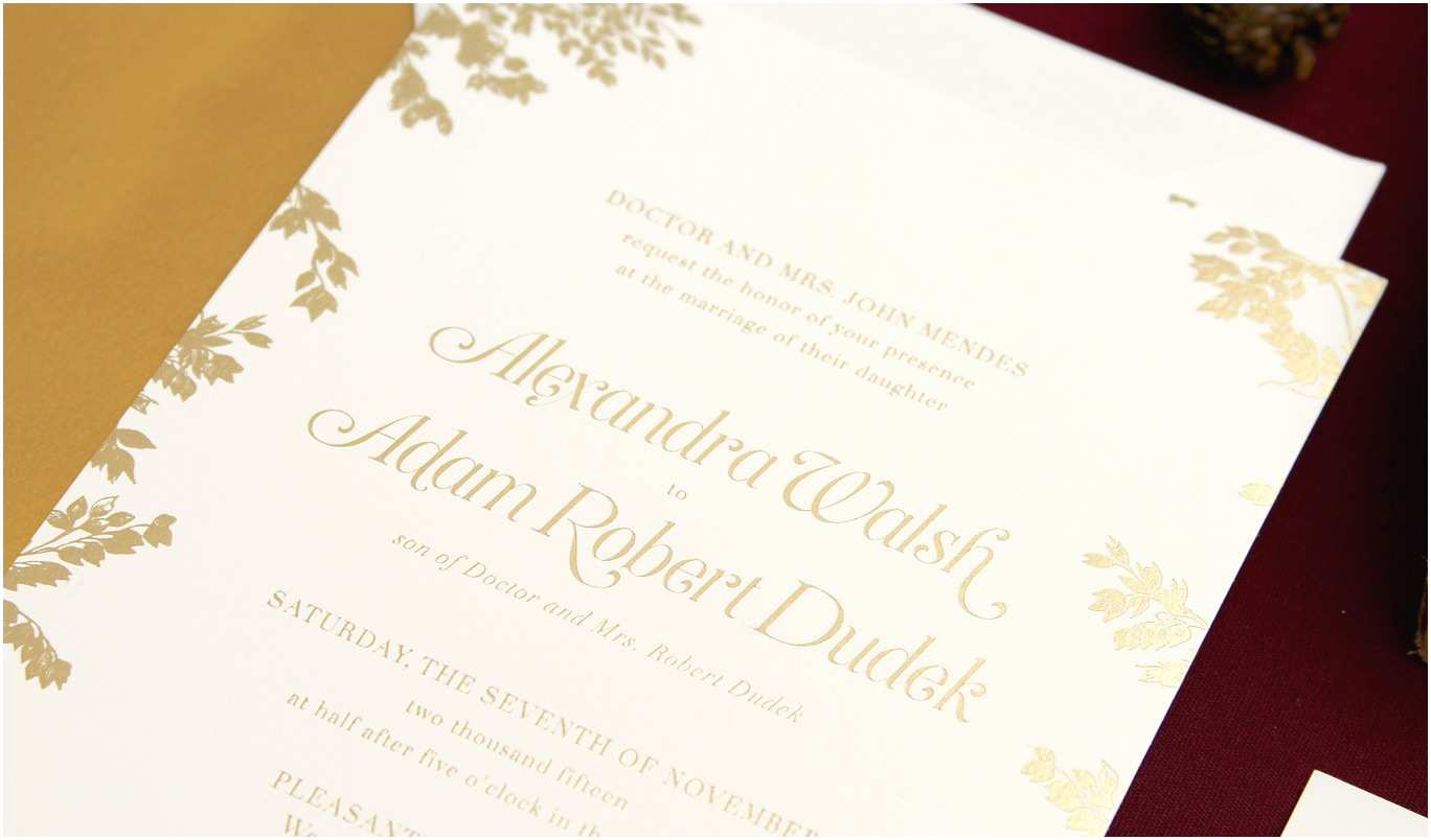 Custom Wedding Invitations Dudek Invitation Custom Gallery