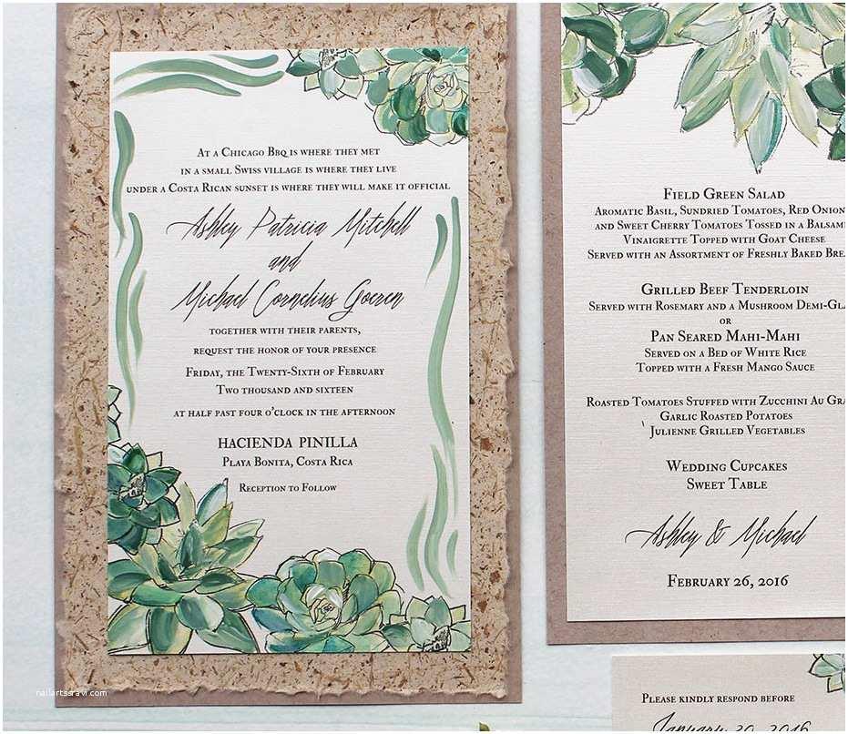 Custom Wedding Invitations Inspirations Handmade Wedding Invitations Momental
