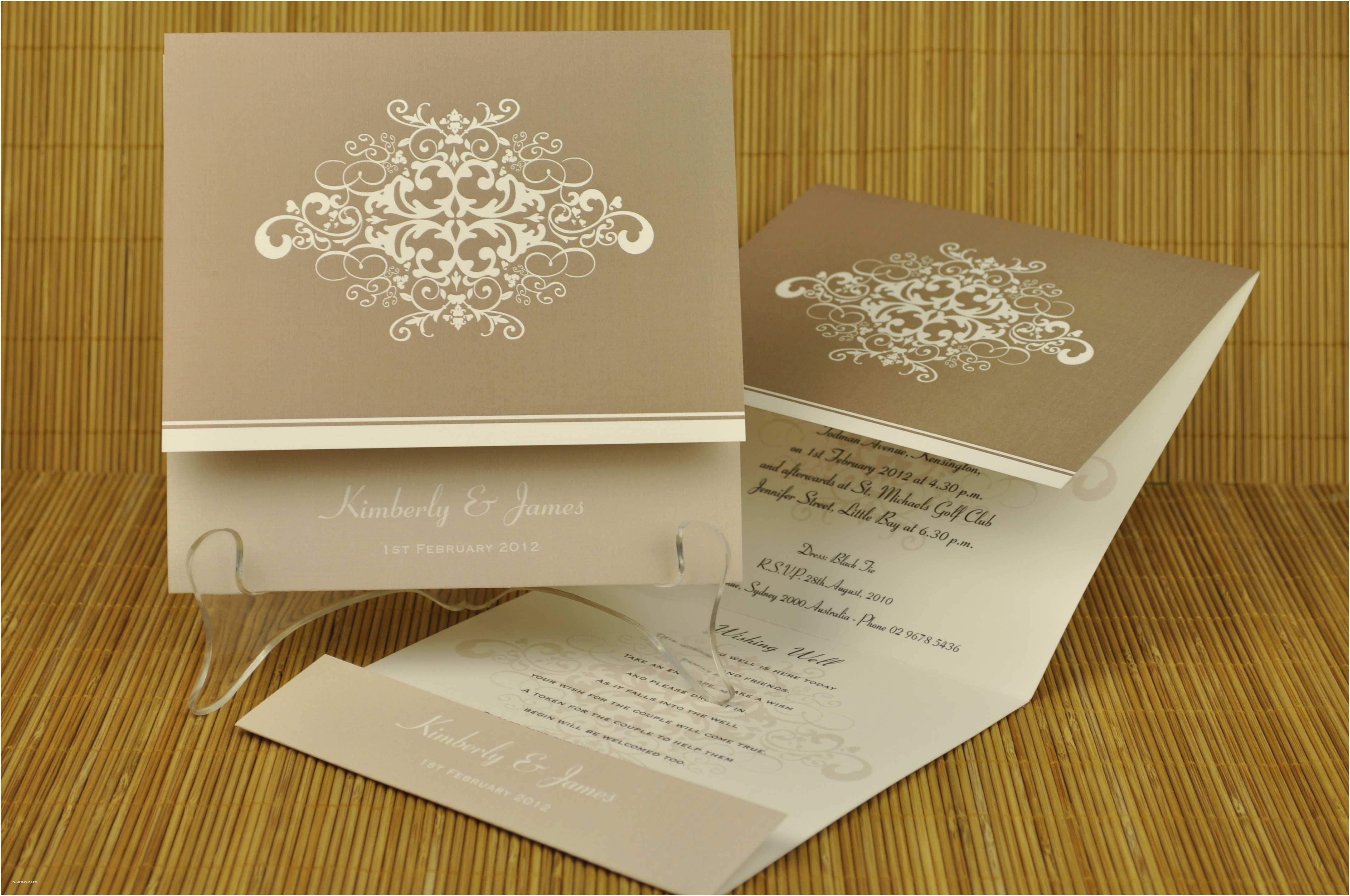 Custom Wedding Invitations Modern and Unique Wedding Invitations