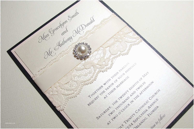 Custom Wedding Invitations Pearl Wedding Accessories Handmade Etsy Wedding Finds