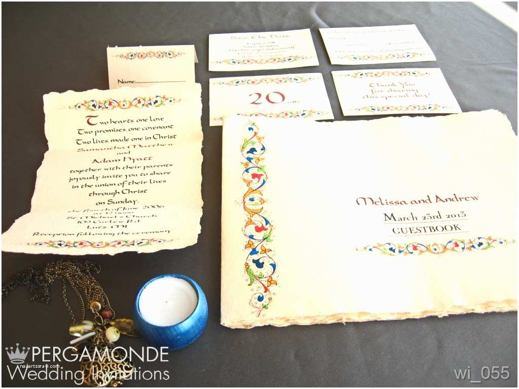 Custom Wedding Invitations Unique Handmade Wedding Invitations for Your Wedding
