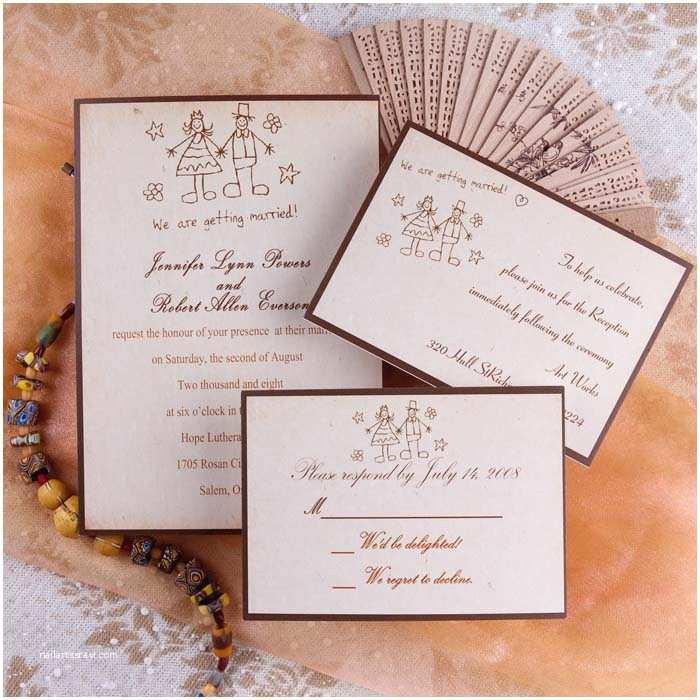 Custom Wedding Invitations Yellow Vintage Funny Married Printable Wedding