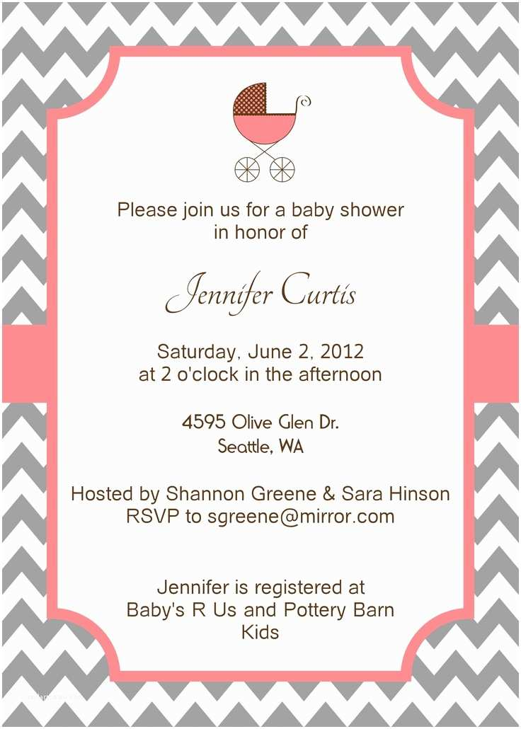 Customizable Baby Shower Invitations 14 Best Chevron Invites & Cards Images On Pinterest