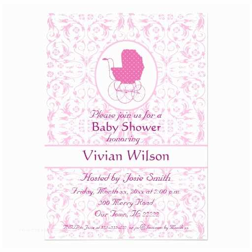 "Customizable Baby Shower Invitations Baby Shower 5"" X 7"" Invitation Card"