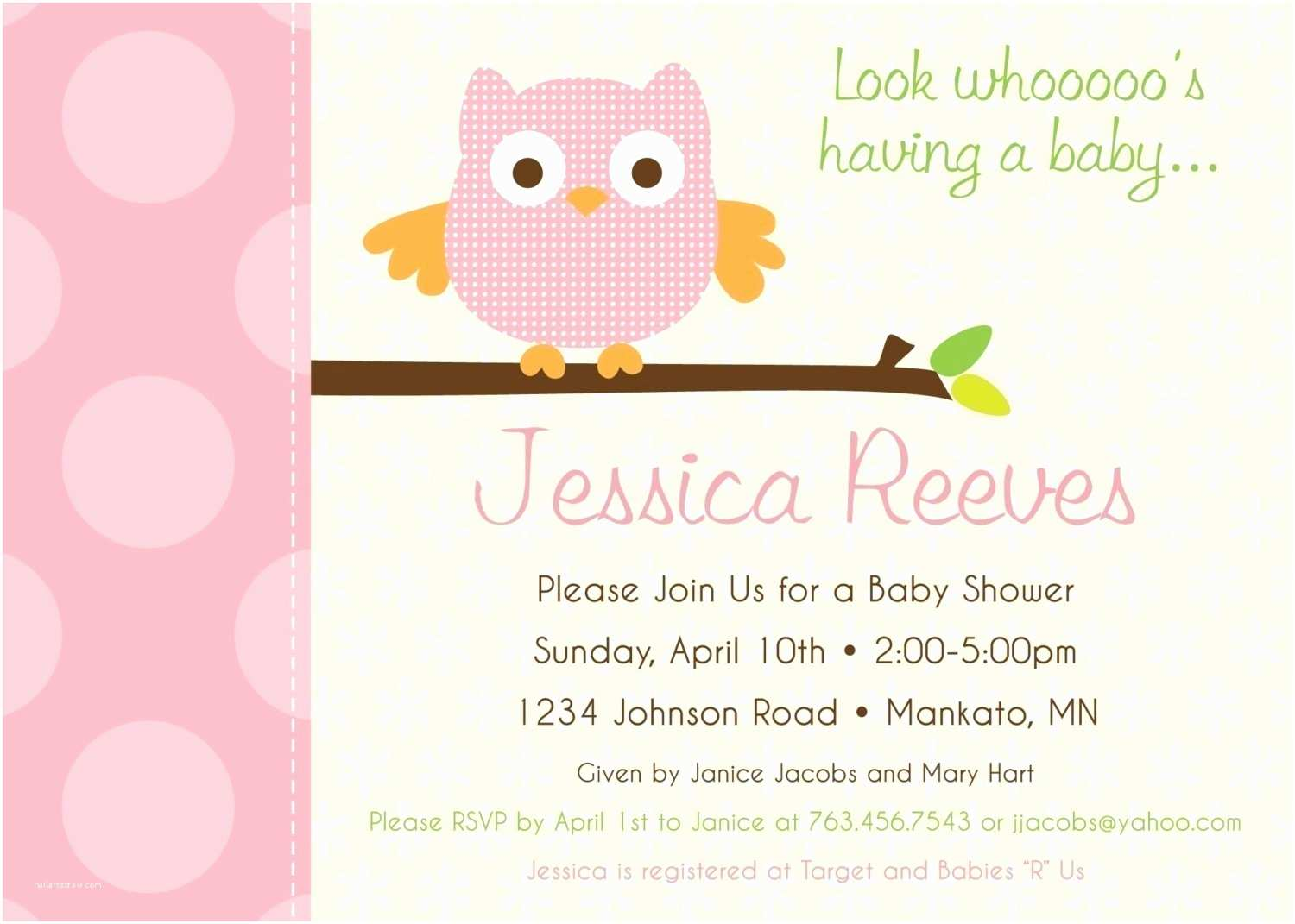 couples baby shower invite