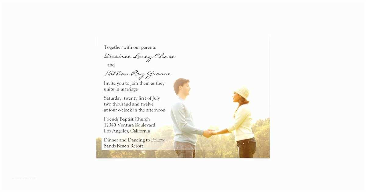 Customizable Wedding Invitations Customizable Wedding Invitation