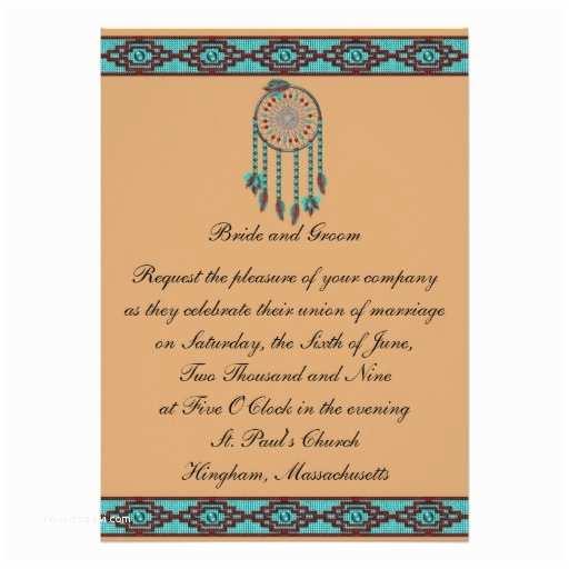 Customizable Wedding Invitations Krw Border Dreamcatcher Custom Wedding Invitation
