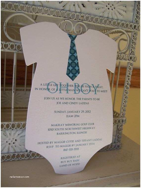 Customized Baby Shower Invitations Custom Baby Boy Shower Invitation with by