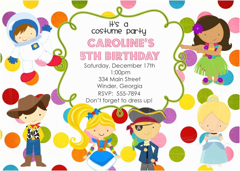 Customized Party Invitations Birthday Invitation Card Custom Birthday Party