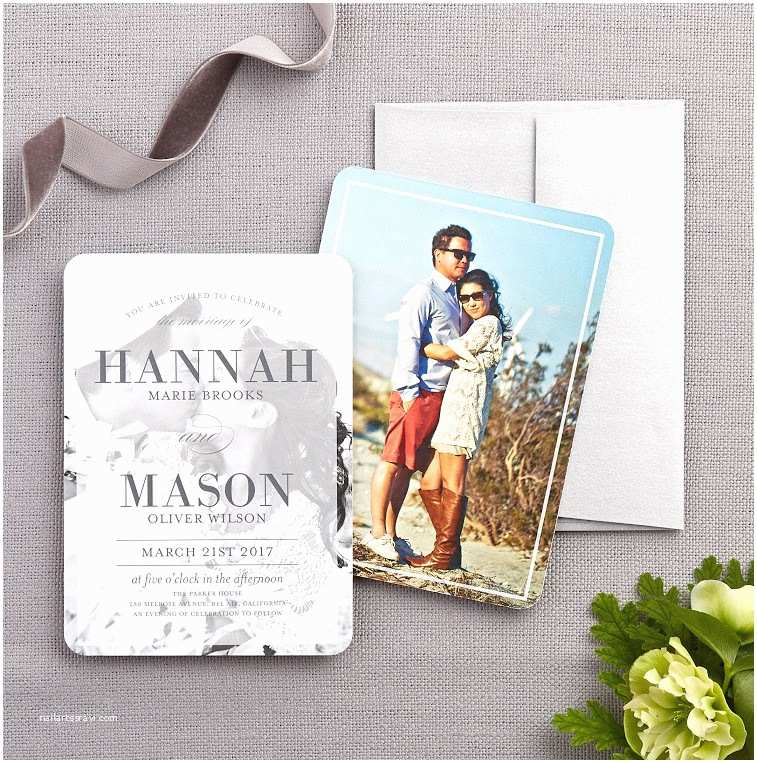 Customized Wedding Invitations Wedding Invitation Wording Examples and Etiquette