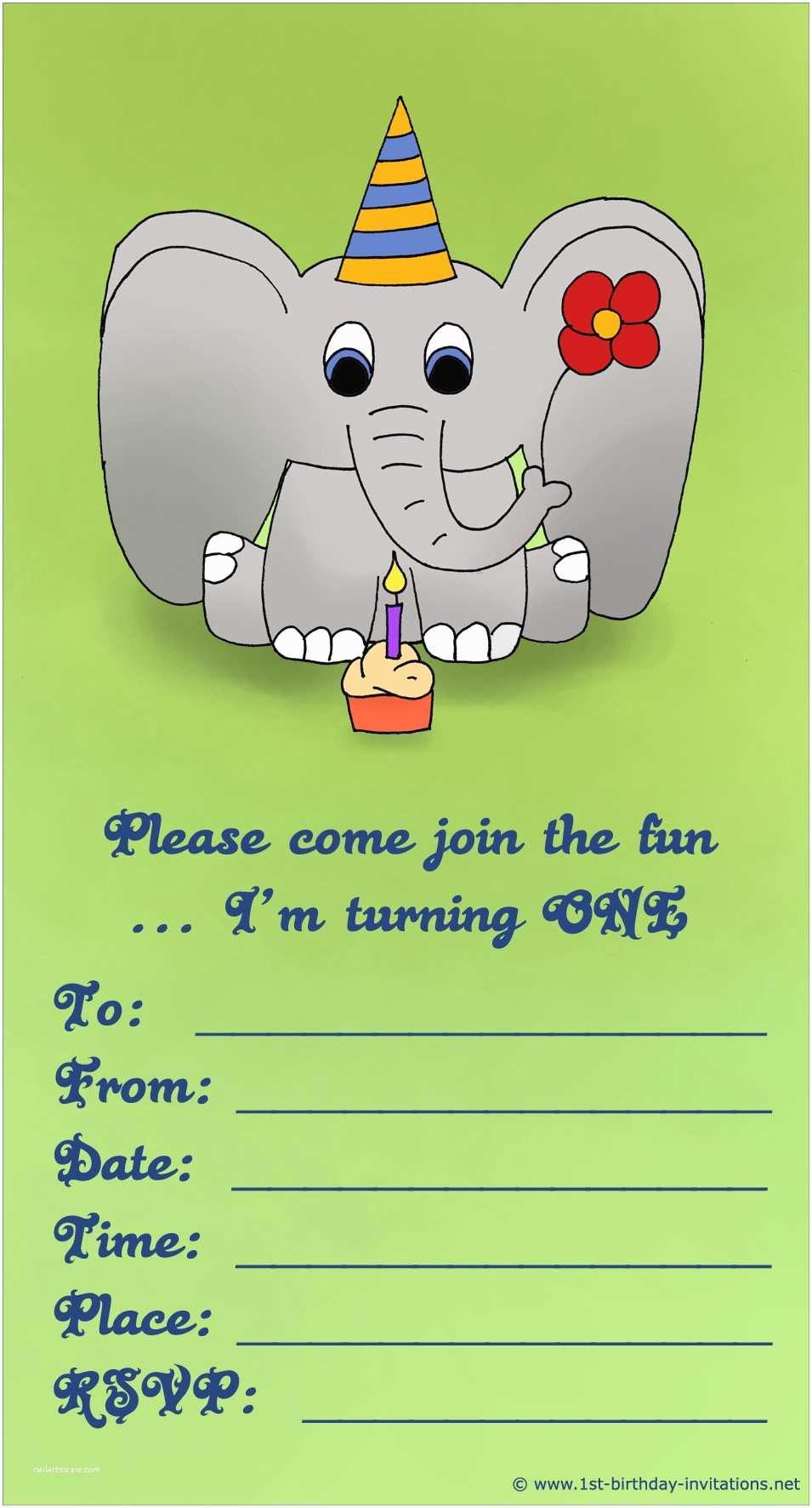 Cute Birthday Invitations 20 Cute 1st Birthday Invitations Free Printable and