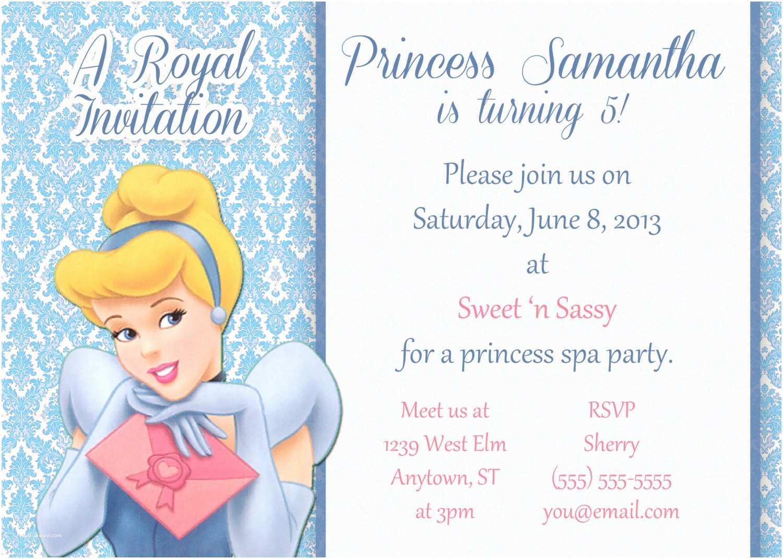 Cute Birthday Invitations Birthday Invites top 10 Very Cute Cinderella Birthday