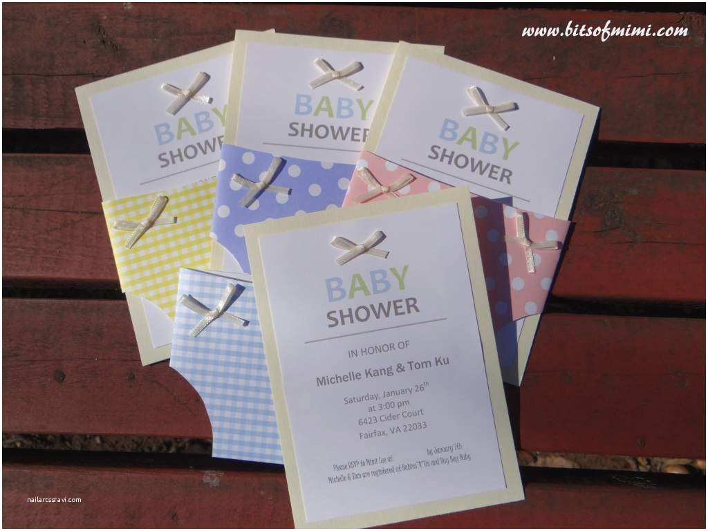 Cute Cheap Baby Shower Invitations Fabulous Diy Baby Shower Invitation Kits with Show