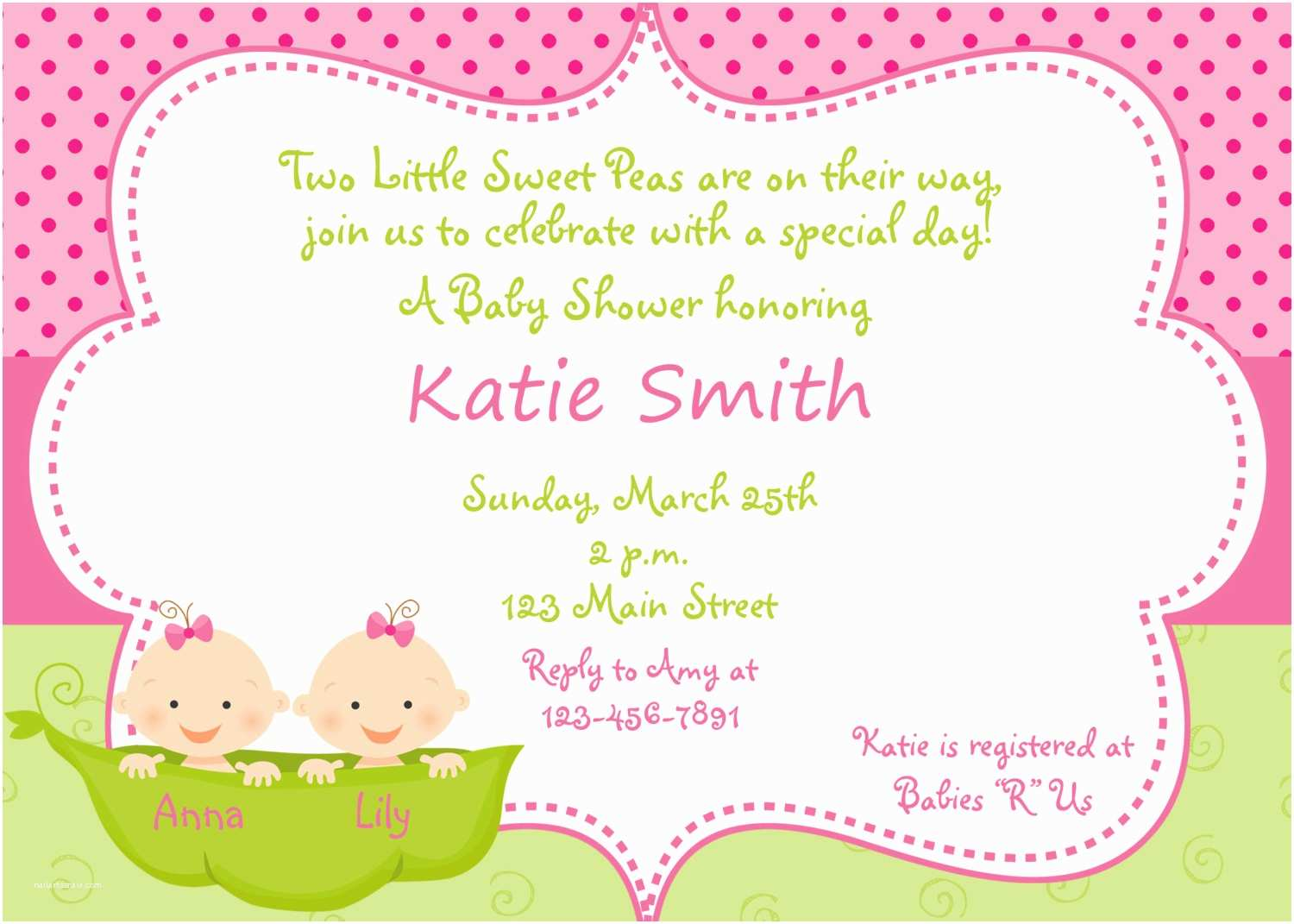 Cute Cheap Baby Shower Invitations Template Twin Baby Shower Invitations Cheap Twins Baby
