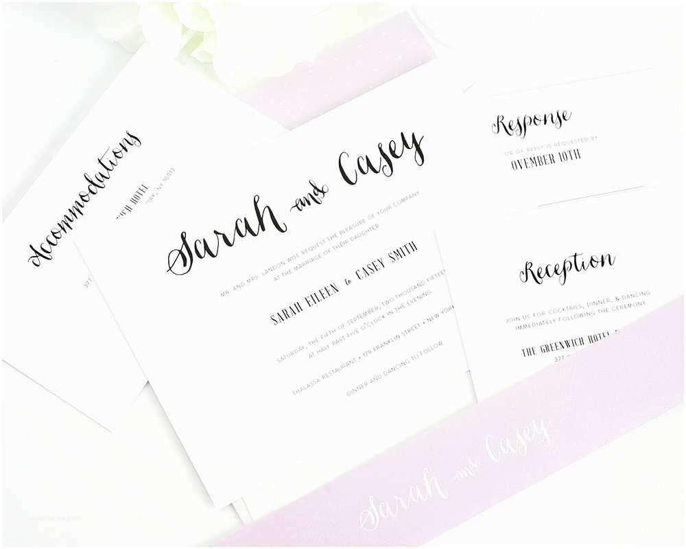 Cute Wedding Invitations Stylish Script Wedding Invitations Wedding Invitations