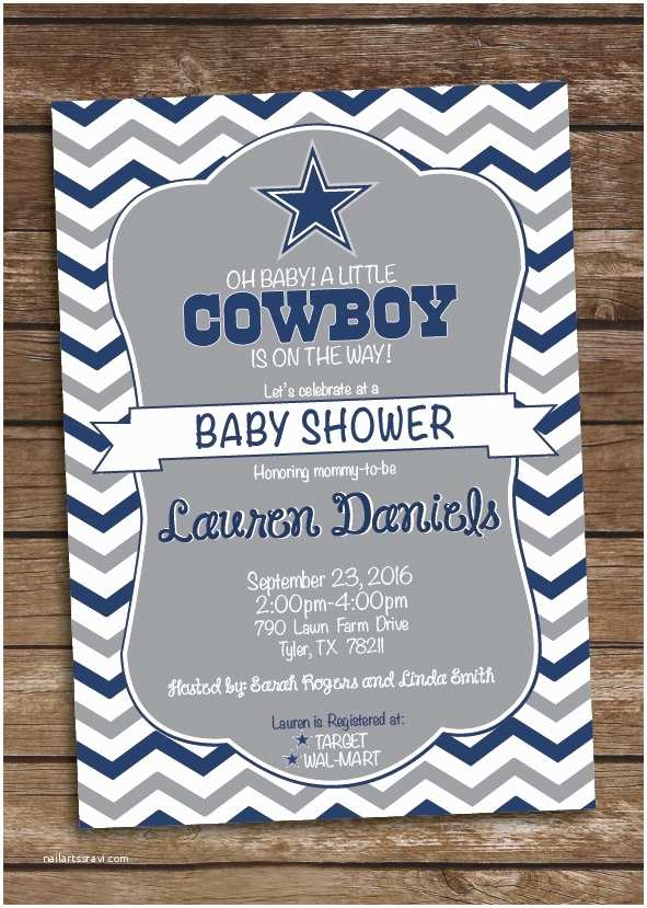 Dallas Cowboys Baby Shower Invitations Dallas Cowboys Birthday Cards New 93 Best Cowboys Baby