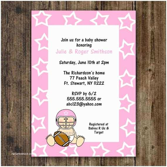 Dallas Cowboys Baby Shower Invitations Unavailable Listing On Etsy