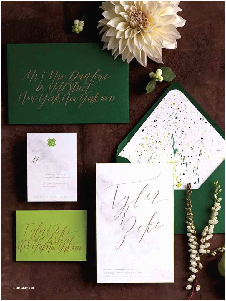 Dark Green Wedding Invitations 20 Prettiest Wedding Invitations
