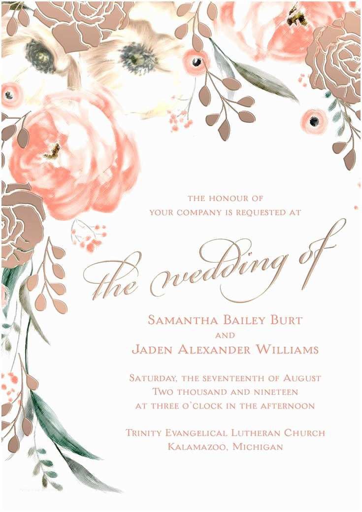 David Tutera Wedding Invitations From the David Tutera Wedding Invitation Collection