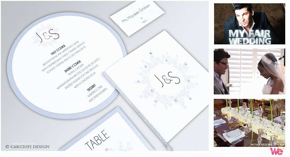 David Tutera Wedding Invitations Wedding Table Decor